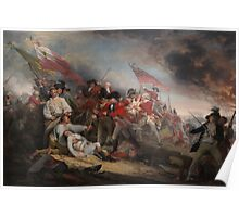 The Battle at Bunker's Hill by John Trumbull Poster