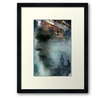 The Wind Goes Forwards Framed Print