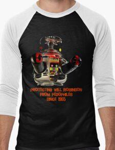 Danger! Men's Baseball ¾ T-Shirt