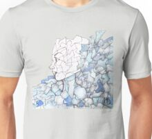 Abstracted Female Portrait Unisex T-Shirt