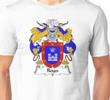 Reyes Coat of Arms/Family Crest Unisex T-Shirt