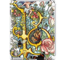The Illustrated Alphabet Capital B (Fuller Bodied) iPad Case/Skin