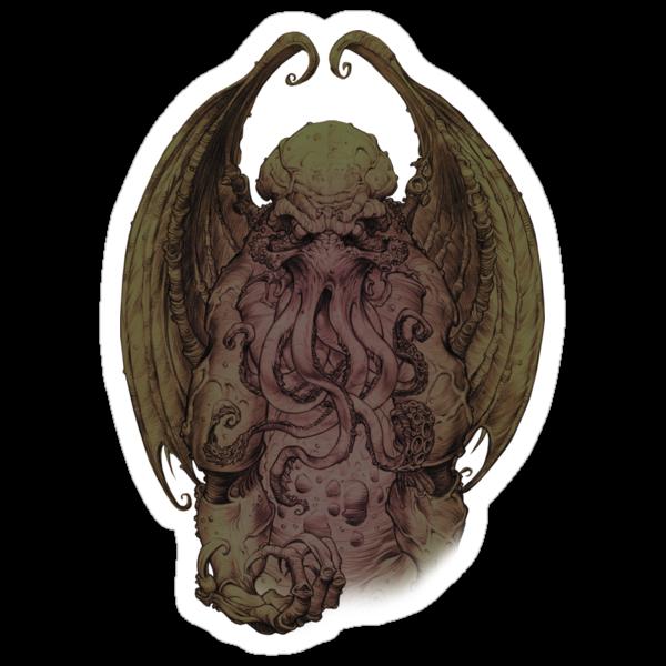 Cthulhu - God Of Cosmic Horror by creepyseb