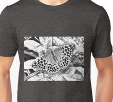 Butterfly in deep forest Unisex T-Shirt