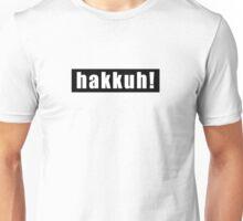 Gabber Hakkuh white Unisex T-Shirt