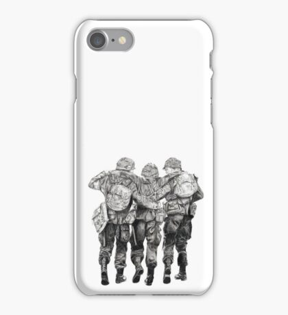 Band of Brothers iPhone Case/Skin