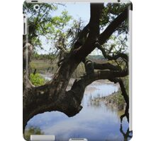 Old Tree Reaching Over To Taste The Water iPad Case/Skin