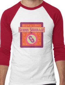 The Groovy Smoothie Men's Baseball ¾ T-Shirt