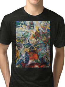 Abstract painting by Joseph Stella Tri-blend T-Shirt