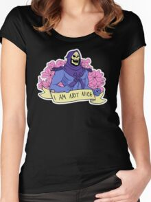 I AM NOT NICE Women's Fitted Scoop T-Shirt
