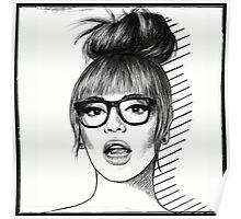 b//glasses Poster