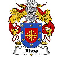 Rivas Coat of Arms/Family Crest Photographic Print