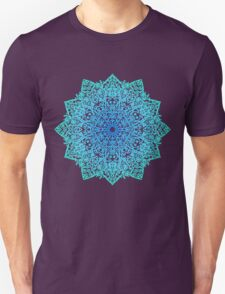 Mandala *green, blue & black* Unisex T-Shirt