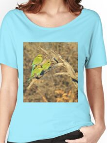 Bee-eater - African Wild Birds - Colorful Friends Women's Relaxed Fit T-Shirt