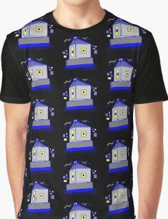 Negacube Negative Magnetic Robot Graphic T-Shirt