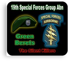 19th Special Forces Group (Abn) Canvas Print