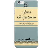 Great Expectations Retro Book Cover iPhone Case/Skin