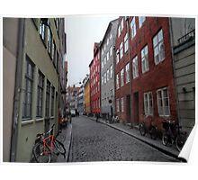 Copenhagen bikes Poster