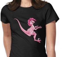Raptor Pinkie Pie Womens Fitted T-Shirt