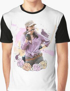 Rosita Espinosa TWD Graphic T-Shirt