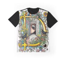 The Illustrated Alphabet Capital D (Fuller Bodied) from THE ILLUSTRATED MAN Graphic T-Shirt