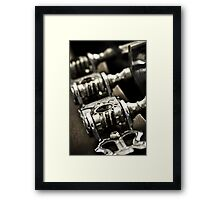 Tuning Machines Framed Print