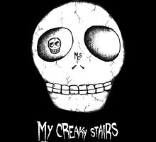 My Creaky Stairs Skull Logo by mycreakystairs