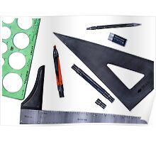 Drafting Tools Poster