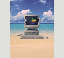 Vaporwave Macintosh - No Text Unisex T-Shirt