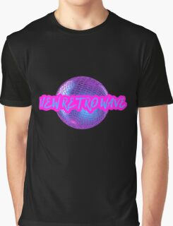 New Retro Wave Synthwave 80s Music Cool Neon Awesome Graphic T-Shirt