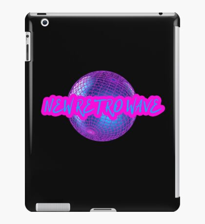 New Retro Wave Synthwave 80s Music Cool Neon Awesome iPad Case/Skin
