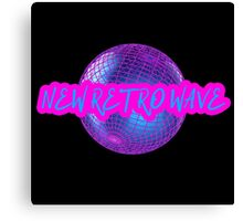 New Retro Wave Synthwave 80s Music Cool Neon Awesome Canvas Print