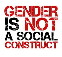 Gender Political Correctness Political Quote Free Speech Photographic Print