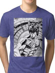 Hokuto no Ken - Fist of the north star (2) Tri-blend T-Shirt