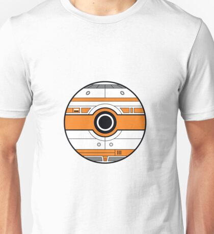 BB-8 Pokemon Ball Mash-up Unisex T-Shirt