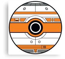 BB-8 Pokemon Ball Mash-up Canvas Print