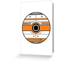 BB-8 Pokemon Ball Mash-up Greeting Card