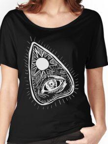 I Speak for the Dead - Planchette on Black  Women's Relaxed Fit T-Shirt