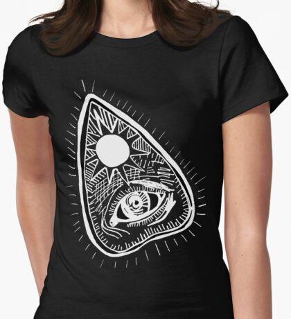 I Speak for the Dead - Planchette on Black  Womens Fitted T-Shirt