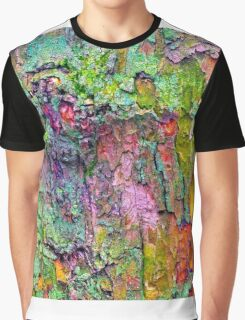 All the Colours of Lichen Graphic T-Shirt