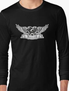 Motorheart with wings Long Sleeve T-Shirt
