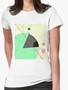 Decorative abstraction Womens Fitted T-Shirt