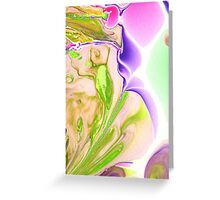 Cosmic Iris Greeting Card