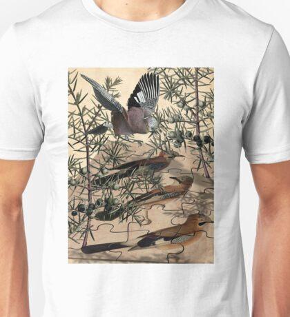 A Jay Jostles In Juniper Unisex T-Shirt