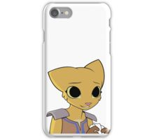 Katia Managan: The Useless Khajiit looking somewhat pleased. iPhone Case/Skin
