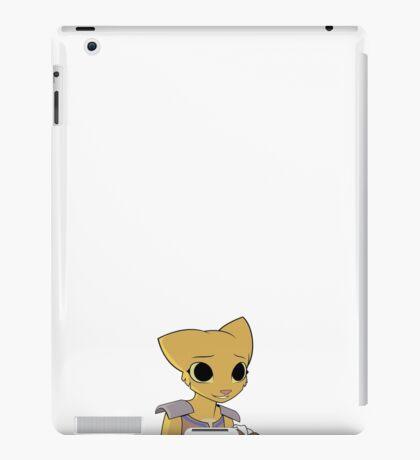 Katia Managan: The Useless Khajiit looking somewhat pleased. iPad Case/Skin