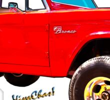 Ford Bronco Classic from VivaChas Hot Rod Art Sticker