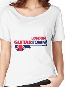 Music Town Women's Relaxed Fit T-Shirt