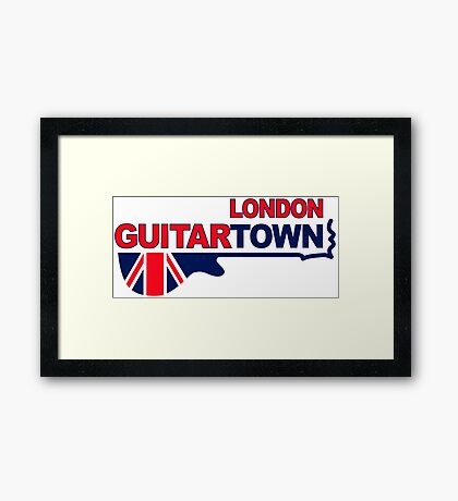 Music Town 578 Framed Print