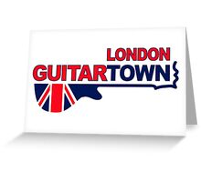 Music Town 578 Greeting Card